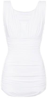 Norma Kamali Tara Mio one-piece swimsuit