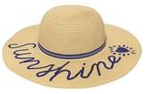 Cat & Jack Girls' Sunshine Floppy Hat Cat & Jack - Tan One Size