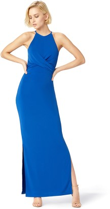 Amazon Brand - TRUTH & FABLE Women's Maxi Bodycon Dress
