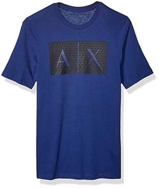 Armani Exchange A|X Men's Triangulation Crew Neck Tshirt