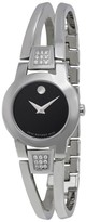 Movado Amorosa 0604982 Stainless Steel Swiss Quartz 24mm Watch