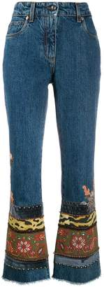 Etro floral embroidered jeans