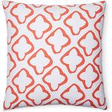 Dana Gibson Moda 18x18 Cotton Pillow, Orange