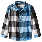 Burberry Twill Check Shirt Boy's Long Sleeve Button Up