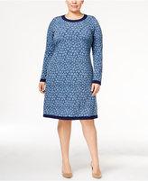 MICHAEL Michael Kors Size Printed Shift Dress