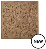 Graham & Brown Bazaar Dark Wood Panel