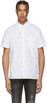 Paul Smith White Mini Parrots Shirt