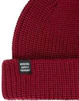 Herschel Burgundy Beanie Hat