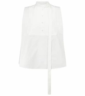 Valentino sleeveless cotton blouse