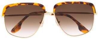 Victoria Beckham Square-Frame Sunglasses