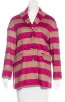 RED Valentino Wool-Blend Short Coat