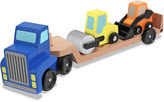 Melissa & Doug Wooden Vehicle Carrier