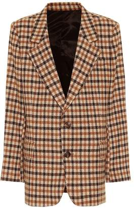 Ami Check wool blazer