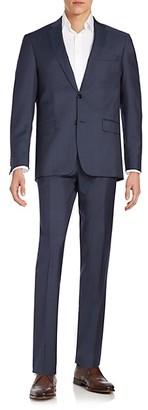 John Varvatos Regular-Fit Wool Suit