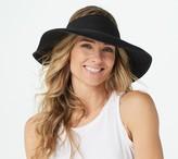 San Diego Hat Co. Ultrabraid Wide Brim Visor with UPF 50