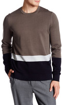 Vince Colorblock Crew Neck Sweater