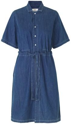 Mads Norgaard Vintage Soft Indigo Daima Dress - 34
