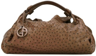 Giorgio Armani Pre Owned Embossed Dot Pattern Tote