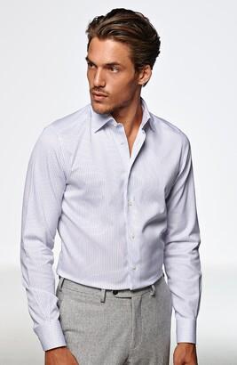 Suitsupply Traveler Classic Fit Stripe Dress Shirt