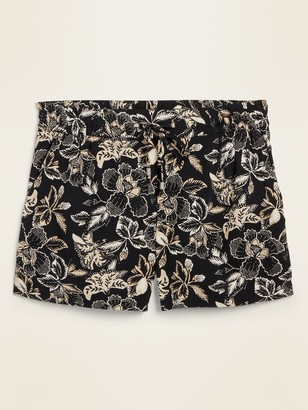 Old Navy Mid-Rise Soft-Woven Pull-On Shorts for Women -- 4-inch inseam