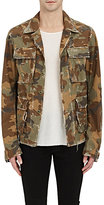 AMIRI Men's Studded Camouflage Cotton Field Jacket