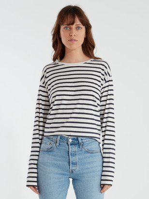 Auguste The Label North Long Sleeve Stripe Tee