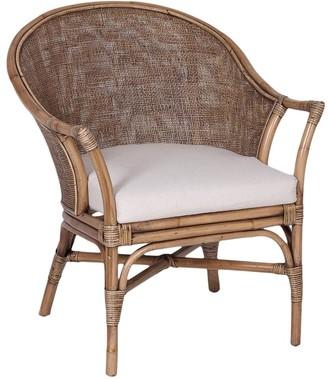 Alliance Furniture Nusa Dua Chair Brown