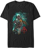Star Wars Men's Mandalorian Warrior Graphic T-Shirt
