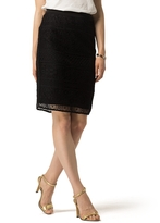 Tommy Hilfiger Lace Overlay Skirt