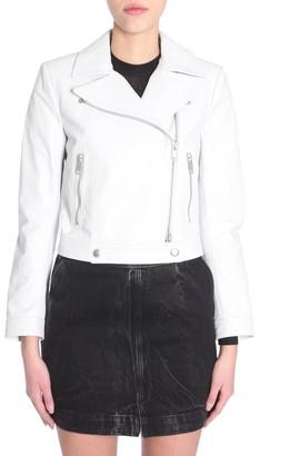 Givenchy Zipped Leather Jacket