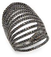 Noir Faceted Ring
