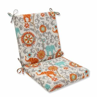 Bungalow Rose Golliday Indoor/Outdoor Dining Chair Cushion Color: Cayenne