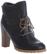 See by Chloe lace up ankle boot