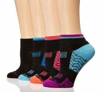 Fruit of the Loom Women's Athletic 6 Pack Ankle Crews Socks