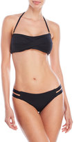 Vince Camuto Twisted Bandeau Bikini Set
