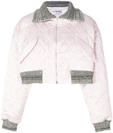 Walk Of Shame cropped quilted jacket