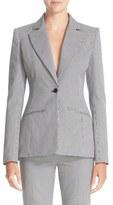 Altuzarra Women's Acacia Mini Gingham Jacket