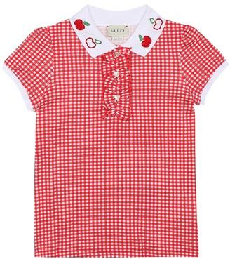 Gucci Kids Stretch-cotton top