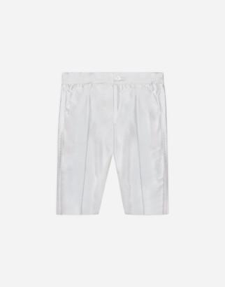 Dolce & Gabbana Silk Shantung Dress Pants