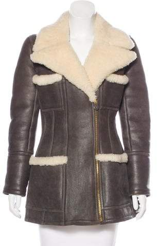 Chanel Shearling Coat