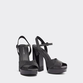 Tommy Hilfiger Metallic High Heel Sandals