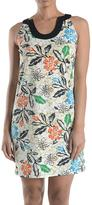 Aryeh Leaf Pattern Sundress