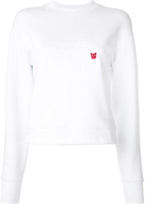 CK Calvin Klein Tonal Slogan Sweatshirt