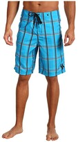 Hurley Puerto Rico Boardshort (Cyan) Men's Swimwear