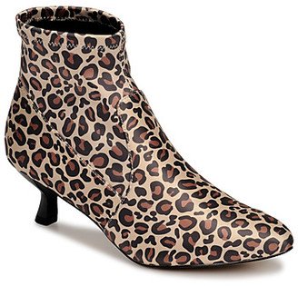 Katy Perry THE BRIDGETTE women's Low Ankle Boots in Brown