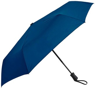 "RainAlertz 43"" Super-Mini Folding Umbrella. Auto-Open/Close"