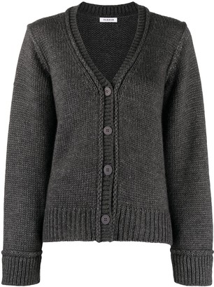 P.A.R.O.S.H. V-neck knit cardigan