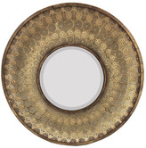 SAGEBROOK HOME Mimi Round Gold Mirror