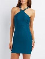 Charlotte Russe Double Strap Bodycon Dress