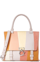 Derek Lam 10 Crosby Mini Ave A Top Handle Cross Body Bag